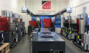 NTI training lab